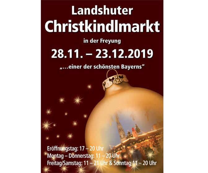 Christkindelmarkt Landshut 2019
